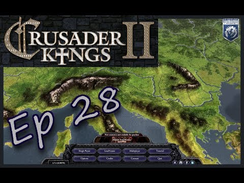 Crusader Kings II | Scotland's Surprise Holy War | Ep 28