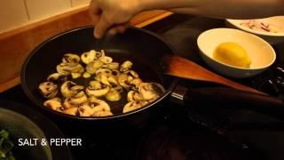Easy Quinoa With Kale And Mushroom Pilaf   Sanaacooks