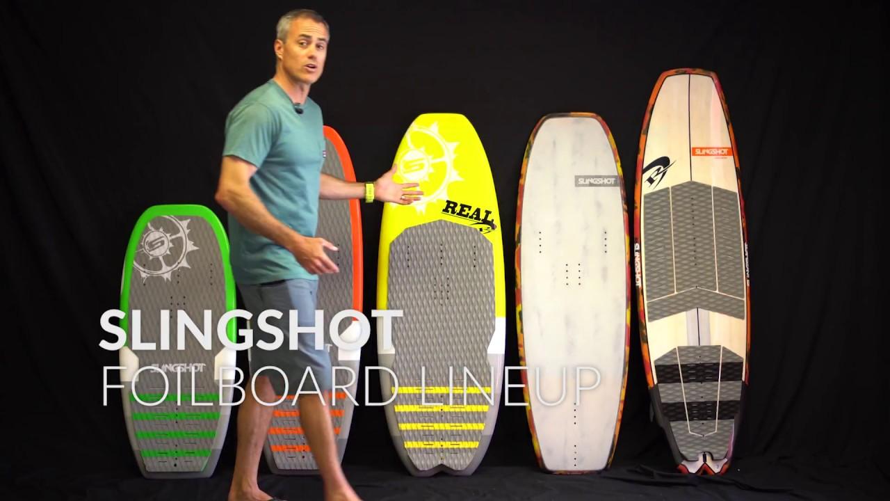 2019 Slingshot Foilboard lineup Overview