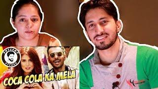 INDIAN REACTION ON COCA COLA KA MELA | MOMINA MUSTEHSAN AD| AWESAMO SPEAKS