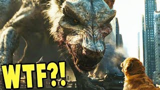 ALL THE MONSTERS! - Rampage The Game! - PLAY AS GEORGE, GIANT CROC & WOLF! - Rampage VR Game