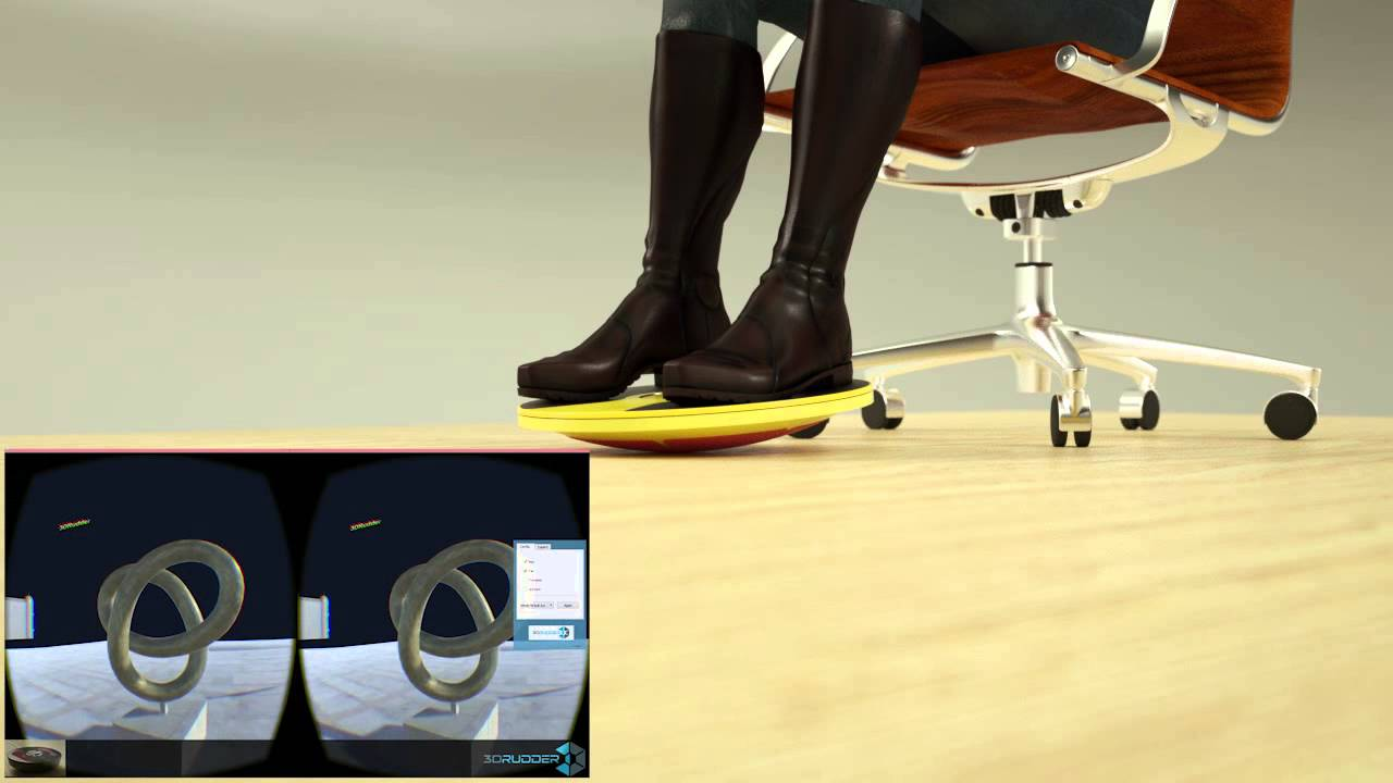 3DRudder Foot Controller