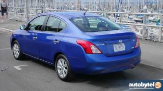 2012 Nissan Versa Test Drive & Car Review