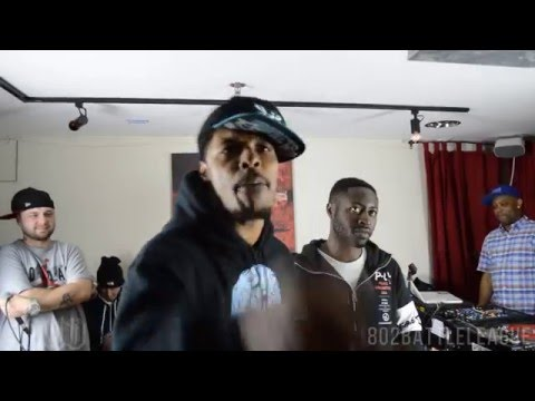 S.I.N.siZZle vs Flash Da Gator | 802 Battle League