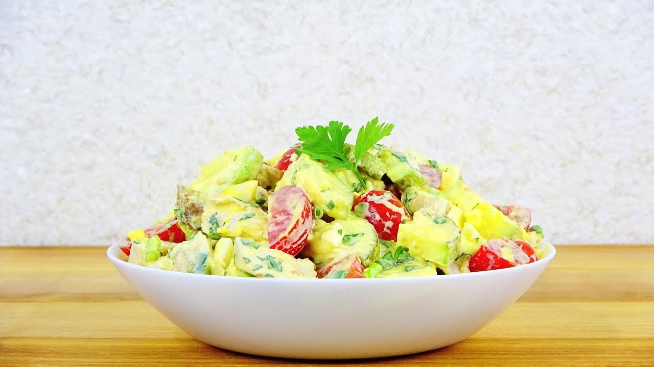 Сегодня снова приготовлю. Новый салат с КАБАЧКАМИ!