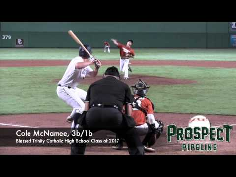 Cole McNamee, 3b/1b, Blessed Trinity Catholic High School, Home Run at PG Underclass