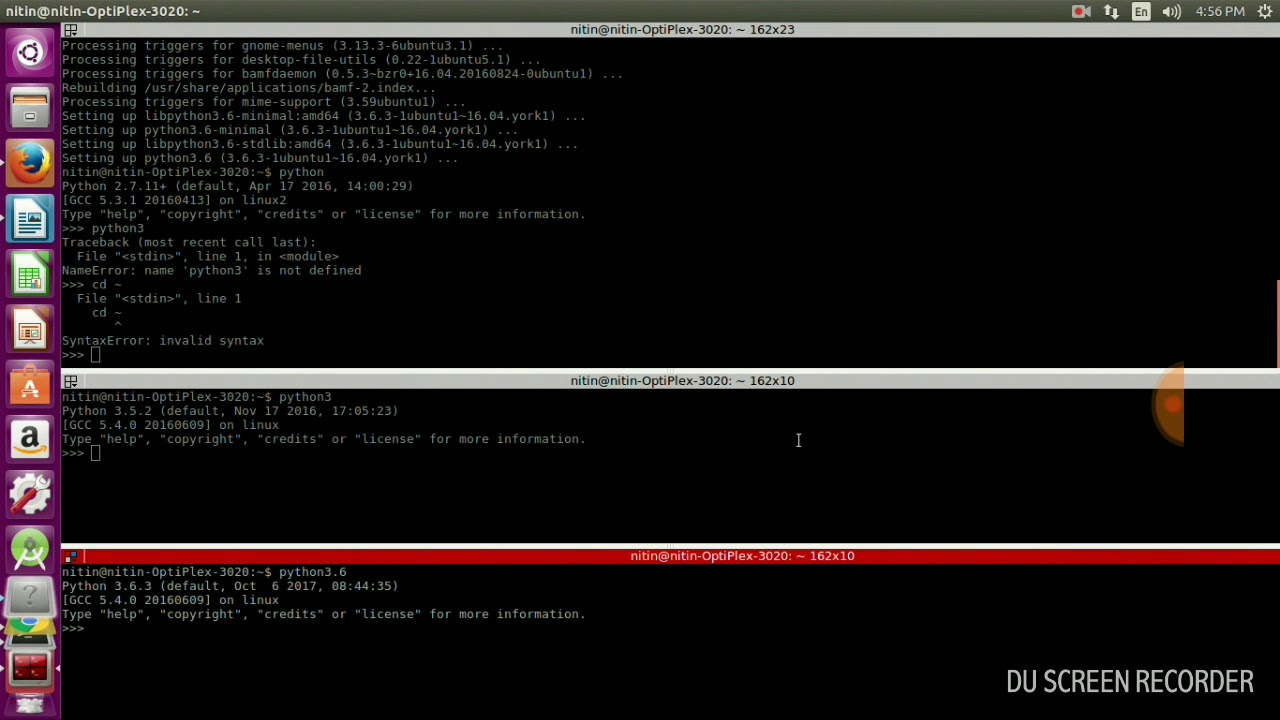 install python 3.5.2 ubuntu 18.04