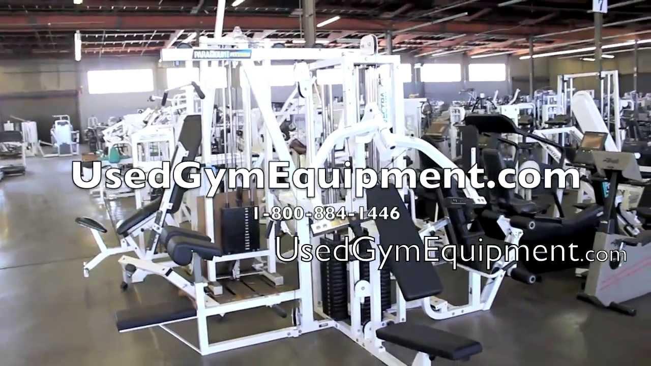 Used Paramount Fit5000 multigym multi gym machine - YouTube