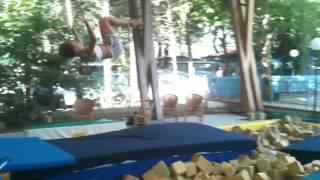 ASD LIBERTY Anita tuffo in piscina