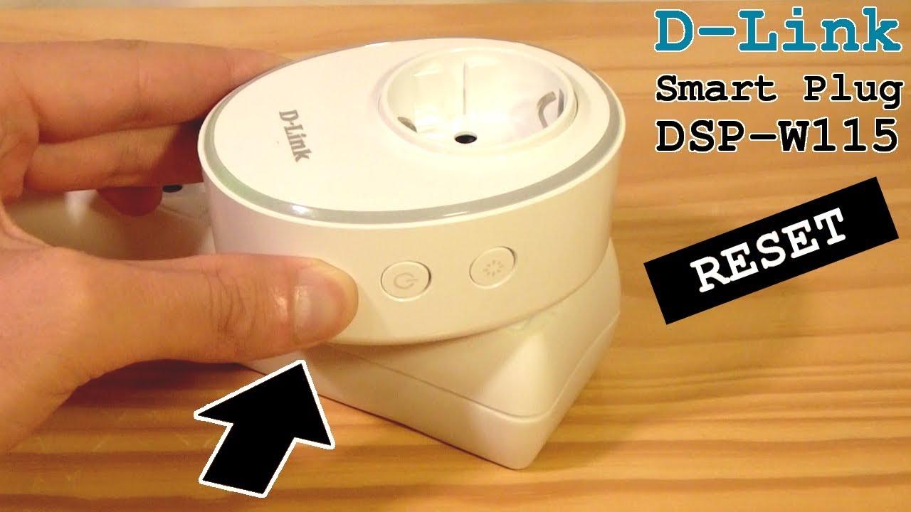 D-Link Smart Plug DSP-W115 • Factory Reset