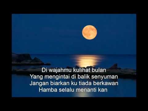 diwajahmu kulihat bulan - Hetty Koes Endang (Lyrics)