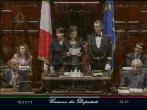 Discorso Camera Boldrini : Laura boldrini il discorso da presidente della camera panorama
