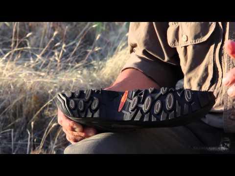 Cliff Climbing Hunter Cuts $350 Lowa Boot In Half!