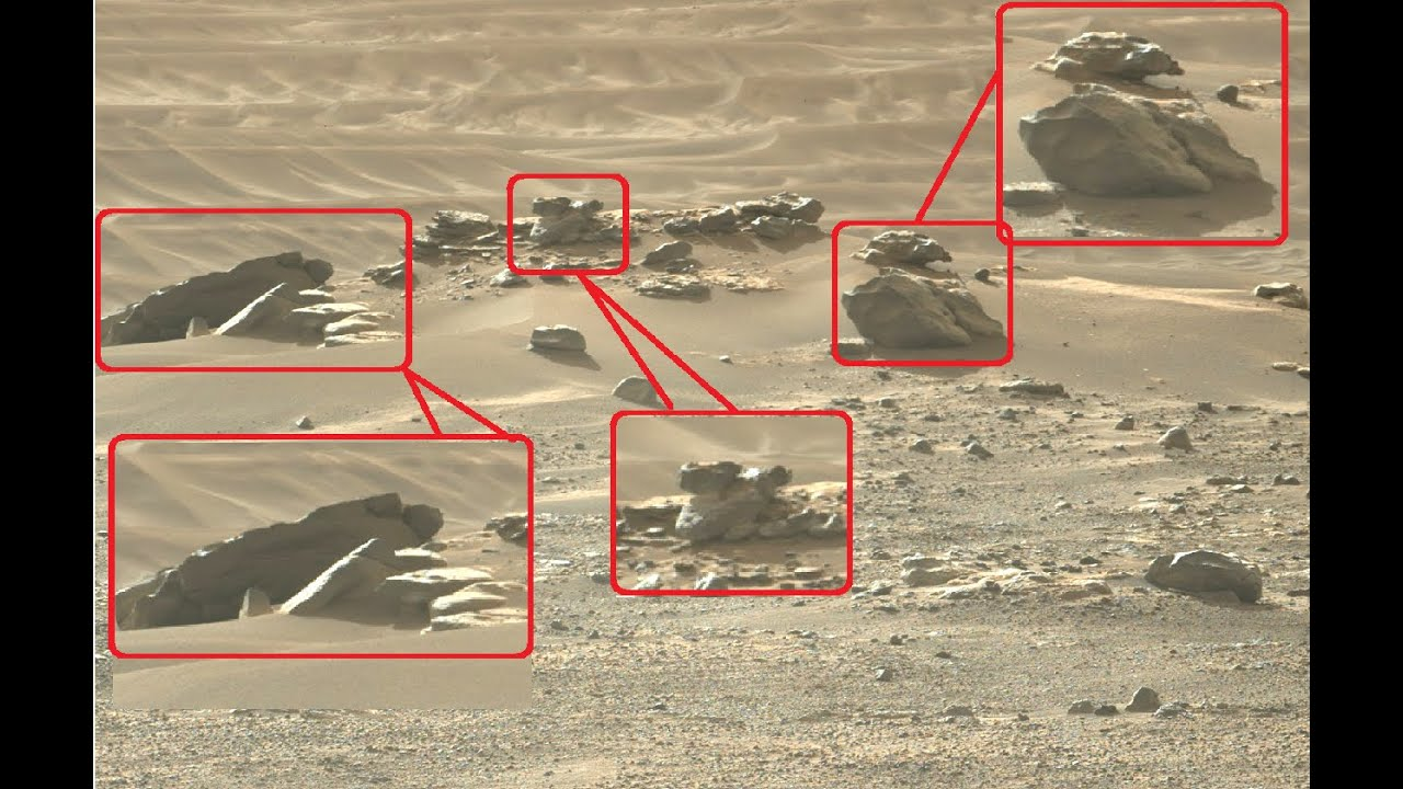 Download Mars Perseverance Rover Capture Something mysterious in the Red Planet Part -1