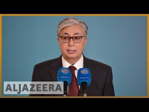 Kazakhstan interim President Tokayev poised for election victory