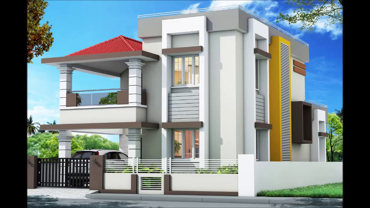 West Facing House 01 With Plan 3d Image Youtube