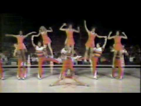 UF Cheer at the 1978 first National Collegiate Cheerleading Championships