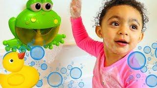 Bath Song   Leah Pretend Play Nursery Rhymes & Kids Songs