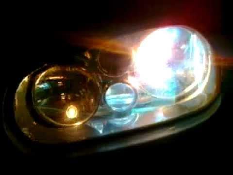 Hid Light Bulbs >> Golf 4 HID style light bulbs xenon h7 - YouTube