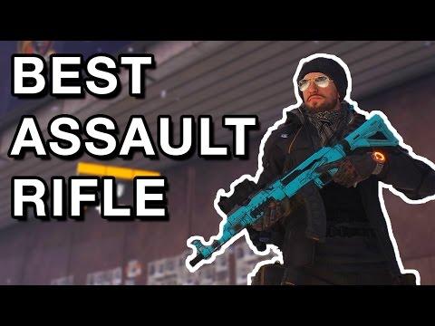 The Division Best Assault Rifle - Black Market AK 74