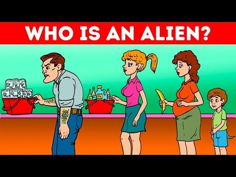 CAN YOU SPOT THE ALIEN? 👽 FUN RIDDLES FOR ALIEN EXPERTS