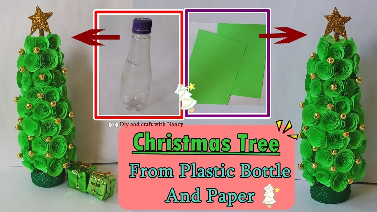 DIY Beautiful Table top Christmas Tree From