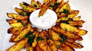 Картошка по деревенски Вкуснейший запеченный картофель в духовке Рецепт просто бомба