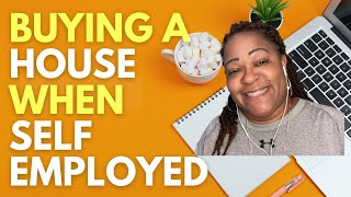 Buying a house wнen self employed. First time home buyers can get a mortgage with a side business.