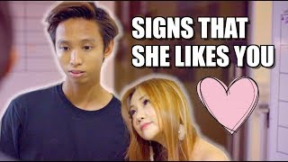 Signs That She Likes You