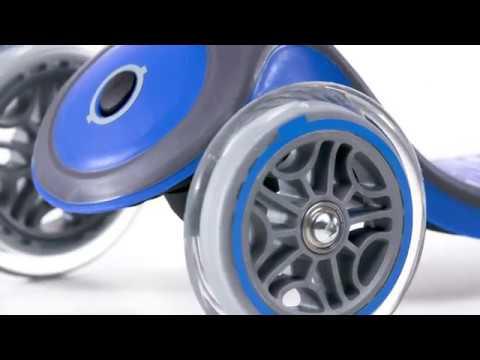 Globber PRIMO PLUS 3-wheel scooter for kids 2018 film