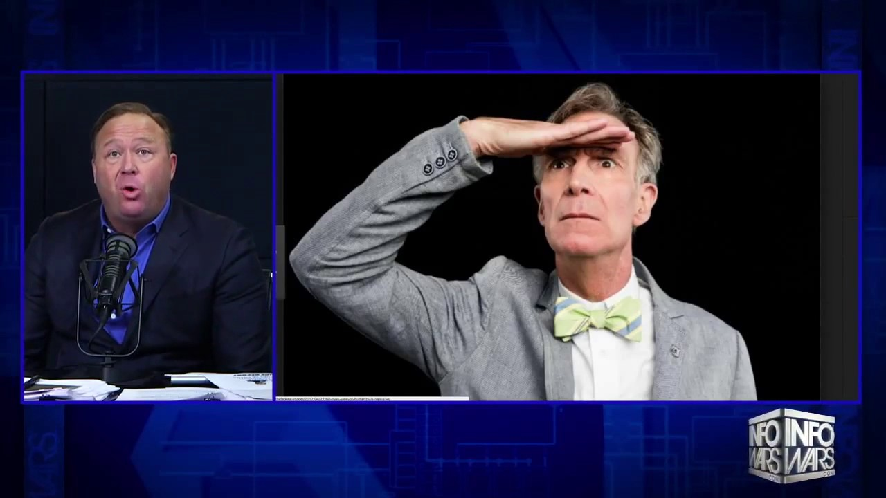 ALEX JONES ON BILL NYE