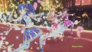 Aikatsu!-Soleil & Seira&Kī&Sora-[We wish you a merry Christmas] -(Aikatsu! ver)- Episode 62