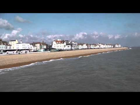 Pier, Beach And Promenade, Deal, Kent