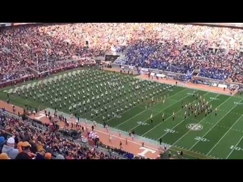 """University of Tennessee """"Pride of the Southland"""" Marching Band Pregame vs. Kentucky 2014"""