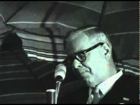 Hendrik Verwoerd talking about apartheid