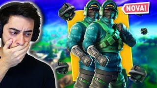 SUPER EXCLUSIVE DOUBLE-DOSE SKIN! -Fortnite ft. Alanzoka
