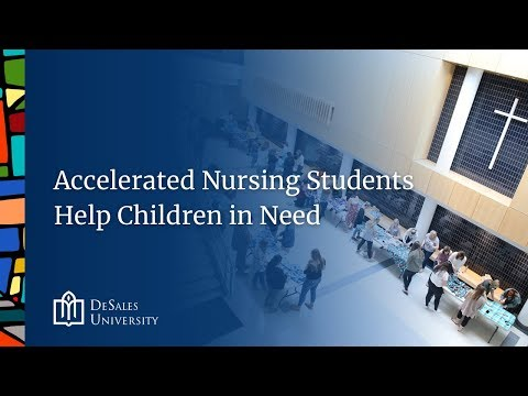 DeSales Nursing Students Help Children in Need