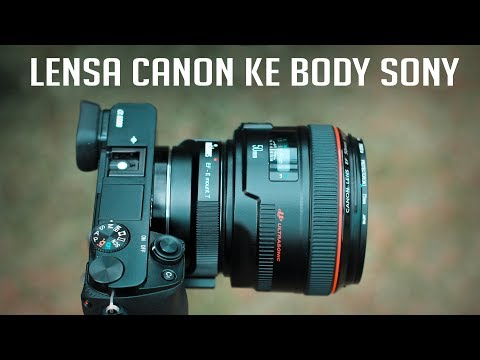Kamera Mirrorless Sony pakai Lensa wide tele 18-105mm F4 G OSS #Review36.
