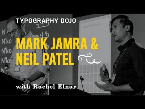 Typography Dojo: Designing Typefaces for African Languages with Mark Jamra & Neil Patel