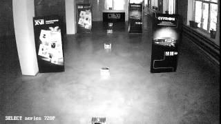 Тестовая видеозапись с IP камер XVI серии Select 1Мп 720р ночь