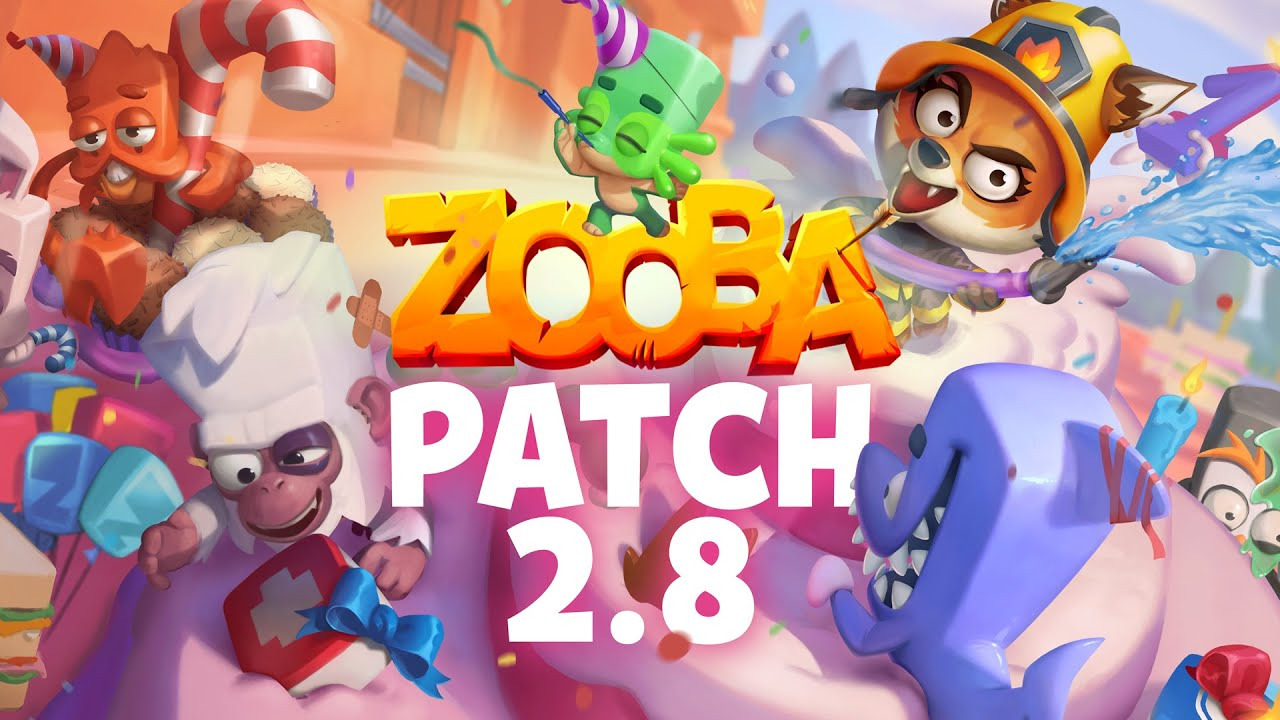 Patch 2.8 Highlights - Happy Birthday Zooba!