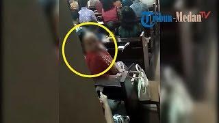 Download Video Detik-detik Aksi Pencurian Uang Persembahan di Gereja Katedral Medan Terekam CCTV MP3 3GP MP4
