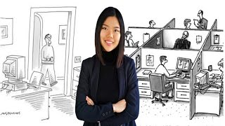 Office life in Austria V.S. in China