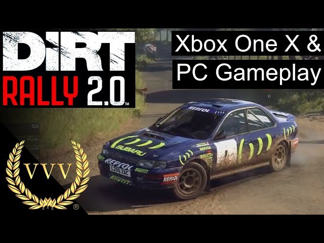 Dirt Rally 2.0 - XBox One X and PC Gameplay