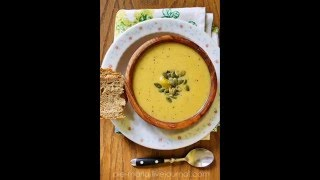 правильное питание.суп-пюре из тыквы