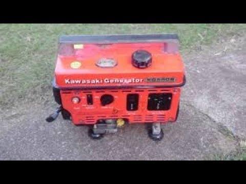 will it run? free old kawasaki 550 generator
