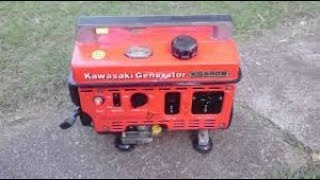 will it run? free old kawasaki 550 generator