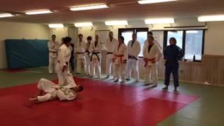 Nage no kata på Färgelanda judoklubb. Del 10 Uchi mata