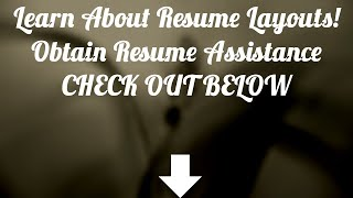 Resume Template Free - Download Resume Builder !