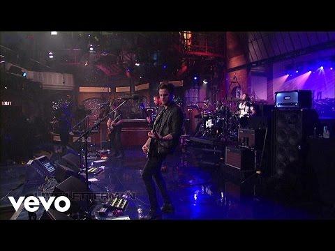 Kings Of Leon - Temple (Live on Letterman)
